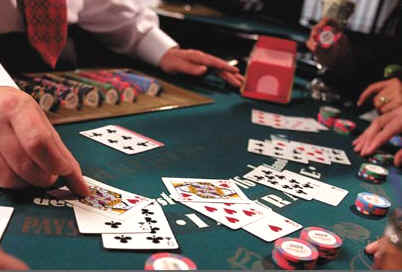 Gambling poker blackjack luminaire hotel casino