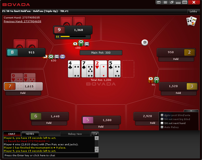 best place to play online poker